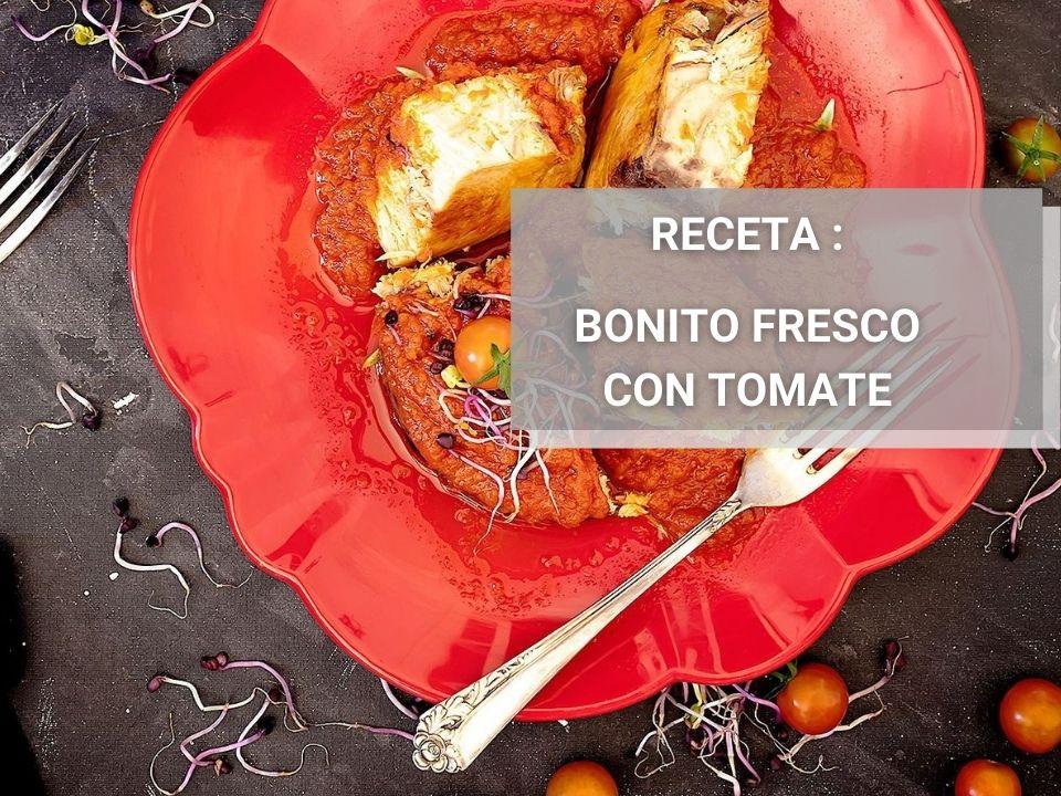 Receta Bonito del Norte con Salsa de Tomate