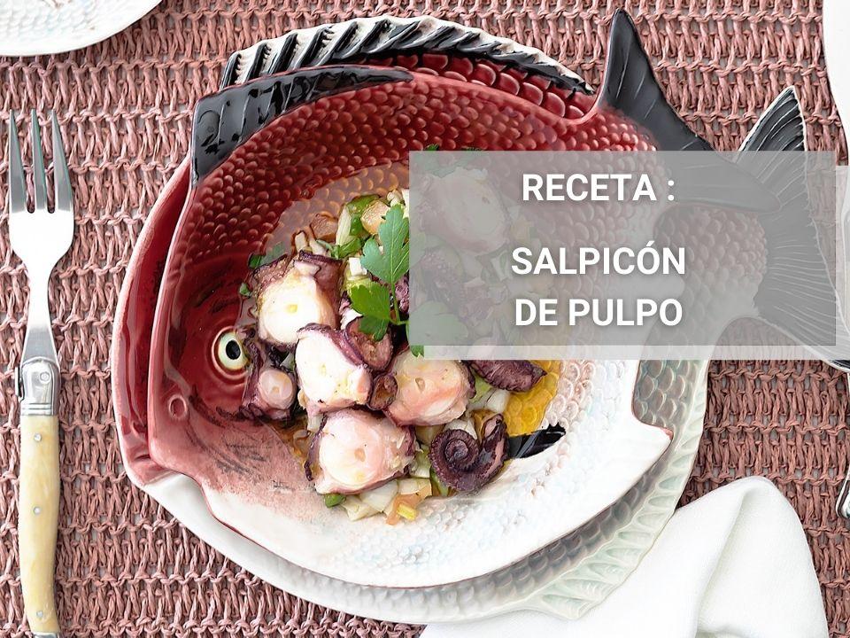 salpicon de pulpo marinado