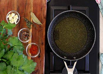 Ingredientes para hacer salsa escabeche