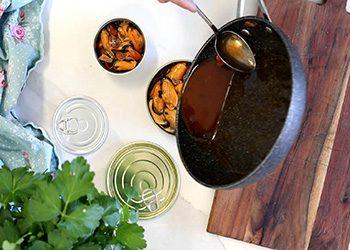 mejillones en escabeche receta