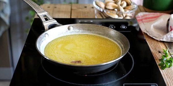 salsa para almejas